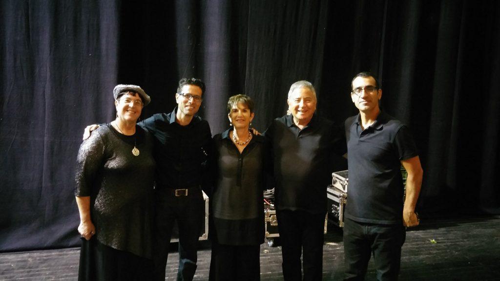 עם חנן יובל ואורי בנאי בערב שירי ירושלים
